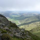 views from crinkle crags